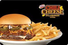 Theme Restaurants Copycat Recipes: Steak n Shake Chili Cheese Steakburger