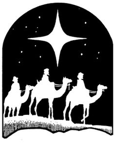Three wise men reverse