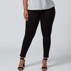 Rank & Style - Lane Bryant Super Stretch Skinny Jean #rankandstyle
