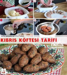 Patates Köftesi (Kıbrıs Köftesi) Tarifi You are in the right place about World Cuisine poster Here we offer you the most beautiful pictures about the World Cuisine restaurant you are looking for. Meatball Recipes, Beef Recipes, Healthy Recipes, Drink Recipes, Delicious Recipes, Healthy Eating Tips, Healthy Nutrition, Cyprus Food, Turkish Recipes