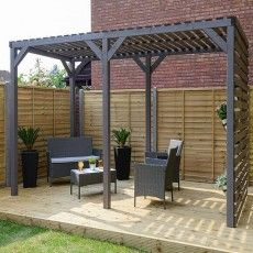 Affordable Pergola Kits Product Garden and terrac., Affordable Pergola Kits Product Garden and terrace in harmony A balanced spatial distribution is the Alpha and omega of the design of a terraced house garden. Pergola Swing, Cheap Pergola, Backyard Pergola, Pergola Shade, Pergola Plans, Pergola Ideas, Pergola Curtains, Mosquito Curtains, Gazebo