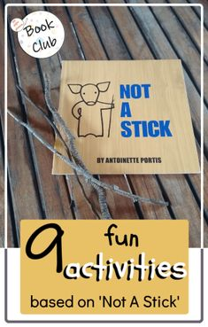 Book Activities for 'Not A Stick' by A. Portis - Pen and Paper Phonics Free Activities For Kids, Library Activities, Phonics Activities, Preschool Curriculum, Kindergarten Activities, Writing Activities, Homeschooling, Zoo Phonics, Inquiry Based Learning