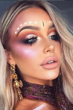 36 Fairy Unicorn Makeup Ideas For Parties Unicorn Makeup for Festival Season picture1 See… - https://makeupaccesory.com/36-fairy-unicorn-makeup-ideas-for-parties-unicorn-makeup-for-festival-season-picture1-see/