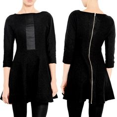 Marc by Marc Jacobs Wool Fit and Flare Dress