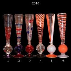 2010 Calici Champagne Glassware By Carlo Moretti - Carlo Moretti - Home Furnishings - Unica Home