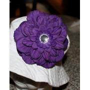 purple gardenia hat