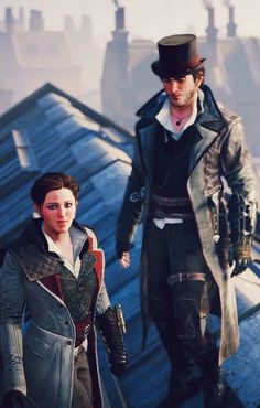 Jacob & Evie Frye. Frye twins. Assassin's Creed Syndicate