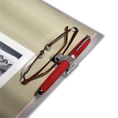 Double Barrel Pen Clip