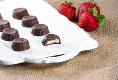 Strawberry-Coconut Butter Cups (gluten-free, vegan-friendly)