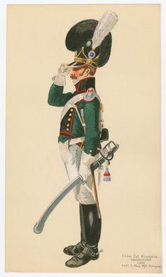 Chev. Rgt. Kronprinz Wachtmeister 1809