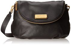 Women's Cross-Body Handbags - Marc by Marc Jacobs New Q Natasha Cross Body Bag Black One Size -- Be sure to check out this awesome product.