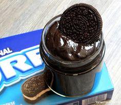 Für Oreo Liebhaber habe ich hier einen leckeren, schokoladigen, nicht zu süßen Aufstrich.   Aber auch als Dip zu frischen Früchten macht e...