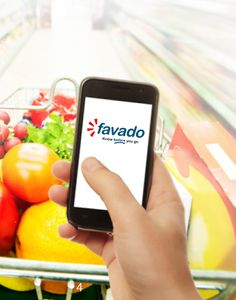 Favado...a free App that tells you where you can buy your grocery items cheaper.  It will show stores in your area and store price comparison...COOL!