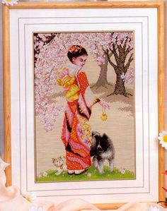 Japanese lady with dog Gallery.ru / Фото #29 - П%И%нн7 - irislena