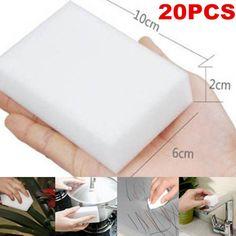 20X Melamine Foam Magic Sponge Eraser Multi-functional Home Cleaning Cleaner Pad #Unbranded