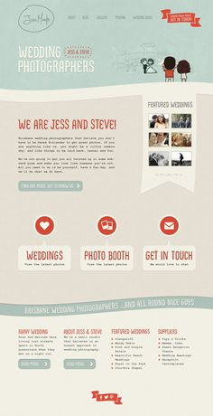 Cute website by Noble Design