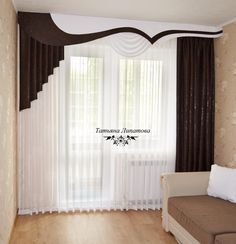Whatever the room, almost each has windows that require decoration. The most affordable and attractive decor option is curtains design. Patio Door Coverings, Window Coverings, Window Treatments, Classic Curtains, Modern Curtains, Home Curtains, Valance Curtains, Valances, Drapery