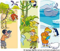 Láminas para 2 años, 4 años y 5 años para las editoriales Edelvives y Everest.                Láminas para Oxford University Press España,...
