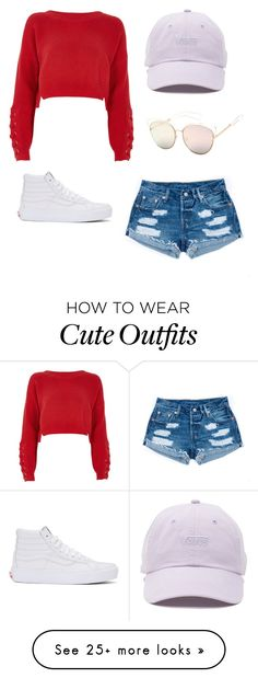 """Outfit 8"" by katherinef3 on Polyvore featuring River Island, Vans and SW Global"