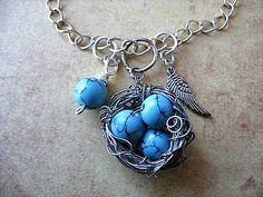 Jamie Estelle Jewelry: Bird Nest Pendant Tutorial