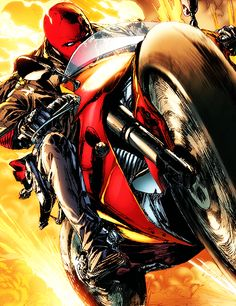 Red Hood & His Bike