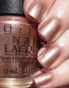 """OPI Fall 2015 Venice Collection - """"Worth A Pretty Penne"""""""
