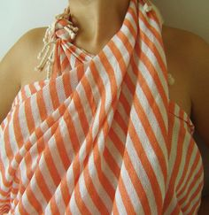 Traditional Turkish Bath Towel Peshtemal Light and by TheAnatolian, $24.00