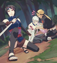 Older team 7 of boruto Boruto And Sarada, Naruto Sasuke Sakura, Naruto Cute, Itachi Uchiha, Anime Naruto, Manga Anime, Team Konohamaru, Yamanaka Inojin, Boruto Next Generation