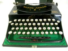 Very nice bumpers Typewriter Typewriter small eagle 2 in by flosil
