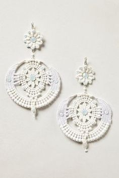 Cut Lace Earrings on shopstyle.com Anthropologie - $270.00