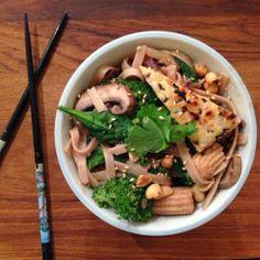 Healthy Ballerina: Veggieful Buckwheat Pad Thai