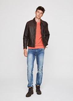 LEATHER JACKET 'DALSTON'