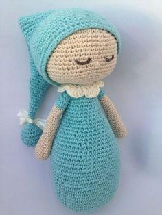 Amigurumi Sleeping Doll Tutorial 2 Make sure Sleeping Doll Tutorial 2 sure Baby Knitting Patterns, Crochet Bunny Pattern, Crochet Patterns Amigurumi, Amigurumi Doll, Crochet Baby Toys, Cute Crochet, Crochet Animals, Crochet Dolls, Doll Tutorial