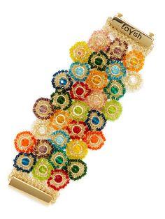 Multi-Color Circle Bracelet by Lavish by Tricia Milaneze at Gilt