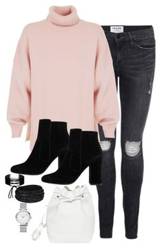 """""""Untitled #2822"""" by theaverageauburn ❤ liked on Polyvore featuring Frame, TIBI, Mansur Gavriel, MANGO and Miss Selfridge"""