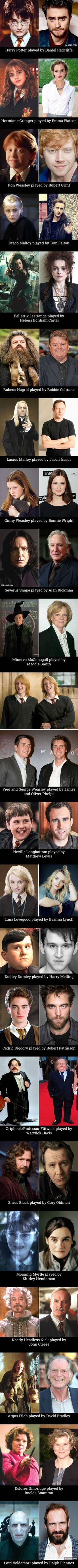 The actors from Harry Potter today, 14 years after the first installment...