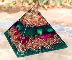 Heart+Chakra+Orgonite+Pyramid++Orgone+Energy+Healing