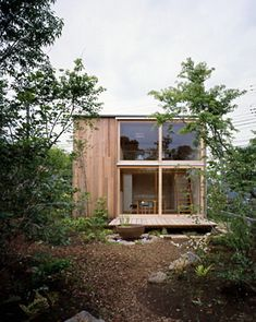 This home's usable space is about nine tsubo (or 320 sq. ft.) in the Japanese measurement system. Based on a 1952 design by architect Makoto Masuzawa—modeled on his own residence—the tiny home is built to accommodate a family of five. It was built by the Japanese firm Commdesign in 2004 for a couple with two small children in Chiba, just outside Tokyo. The construction cost: $115,000.
