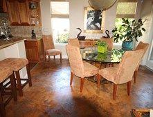 Dining Room, Colored Concrete Concrete Floors Spartan Concrete Coatings Inc Roseville, CA