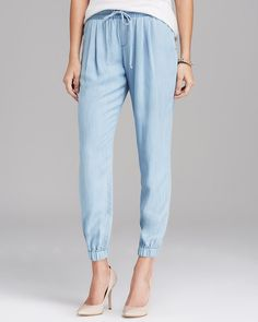 Pin for Later: The 30 Spring Must Haves We're Buying This Month C&C California Chambray Joggers