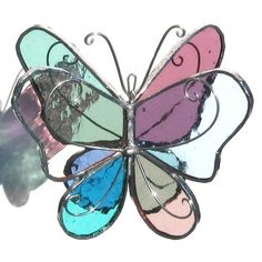 3D Butterfly Stained Glass