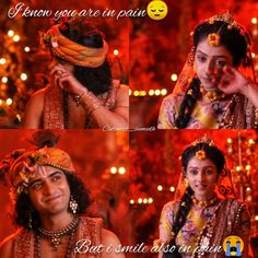 Image may contain: one or more people and text Radha Radha, Radha Krishna Songs, Radha Krishna Love Quotes, Radha Krishna Pictures, Radha Krishna Photo, Krishna Photos, Lord Krishna, Little Krishna, Baby Krishna