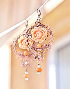 Great work! Wire earrings