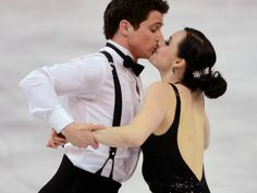 Description of . Canada's Tessa Virtue and Scott Moir perform for Team Ice Dance Short Dance at the Iceberg Skating Palace in Sochi, Russia ...
