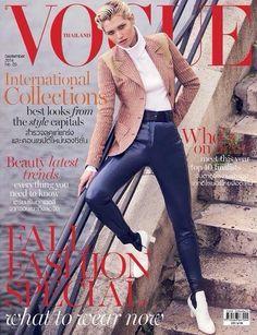 Vogue Thailand September 2014 Cover (Vogue Thailand)
