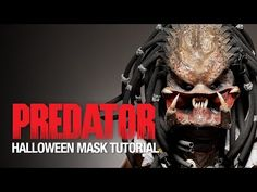 Predator Halloween mask tutorial - YouTube