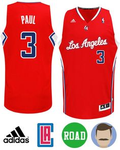 Buy Chris Paul Los Angeles Clippers Revolution 30 Swingman Red Jersey from  Reliable Chris Paul Los Angeles Clippers Revolution 30 Swingman Red Jersey  ... 742fbc704a3