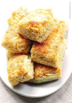 Fluffy Buttermilk Biscuits Recipe   http://shewearsmanyhats.com/fluffy-buttermilk-biscuits-recipe/