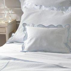 Block Island Coverlets and Shams by Matouk  #bedding #pillows #Figlinensandhome #figlinenswestport #06880 #towels #luxurylinens #westportct #quilts #bedlinens