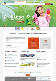Cleaning Revolution – Residential & Commercial Cleaning Company